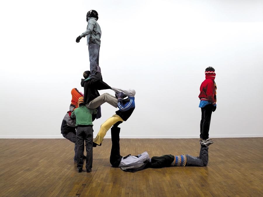 Daniel Firman, courtesy Galerie Alain Gutharc, © Photo Marc Domage