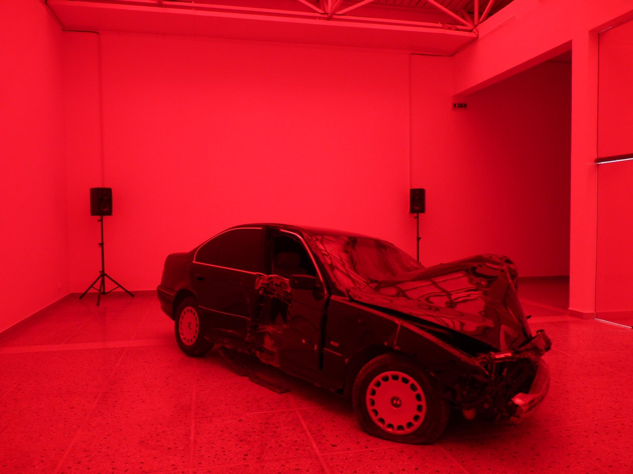 Crash, passive interview, installation, Pavillon hongrois, Venise