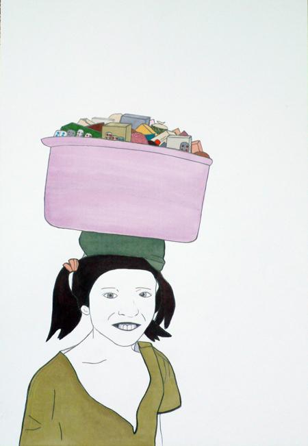Jochen Gerner courtesy galerie Anne Barrault