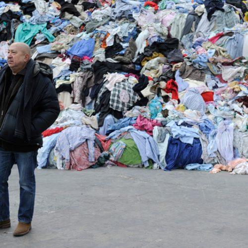 Christian Boltanski .Photo Didier Plowy Tous droits réservés Monumenta 2010, ministère de la Culture et de la Communication