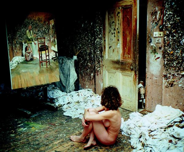 |Admiratrice nue, photographie, (59 X 76 cm)|2004-2005