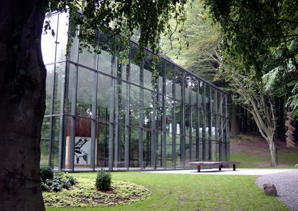 Skulputuren Park Waldfrieden