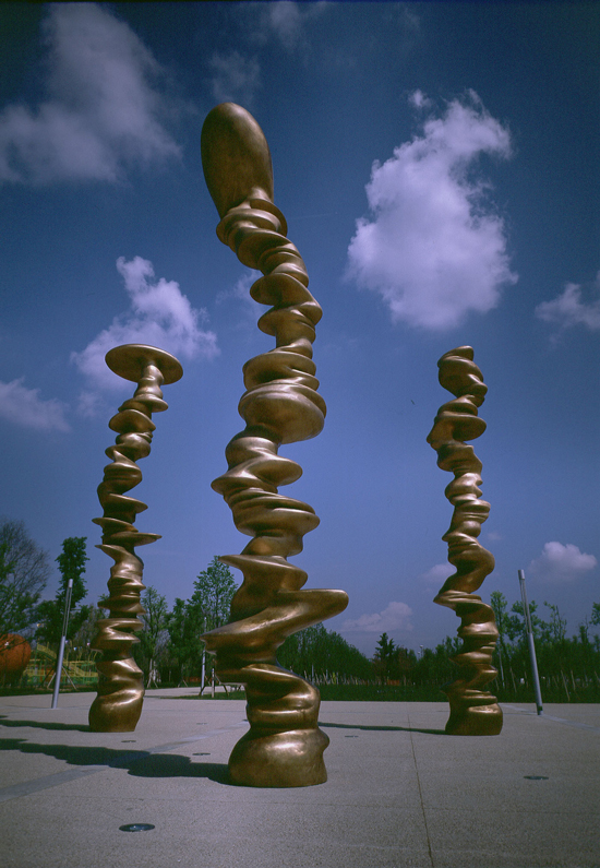 Tony Cragg, Photo : Paolo Mussat Sartor