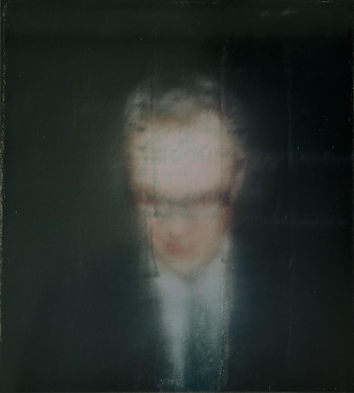 Autoportrait, huile sur toile (51 x 46 cm)