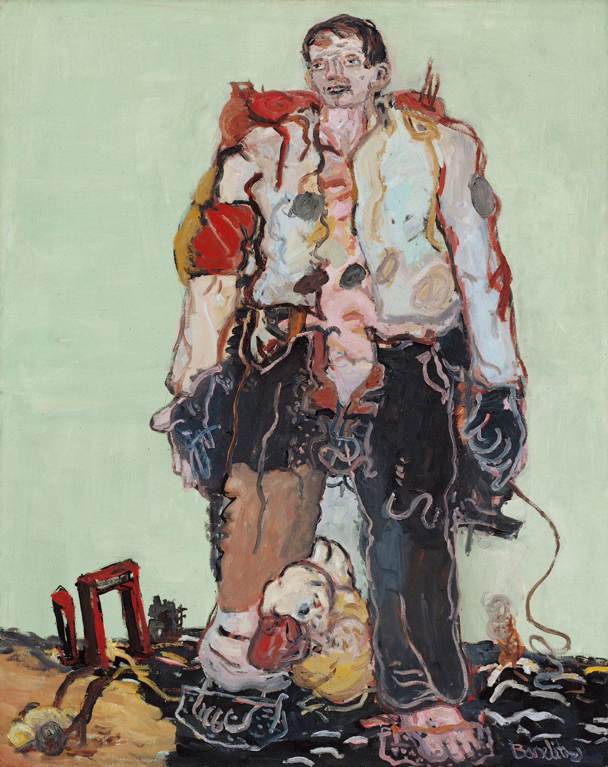 Georg Baselitz, photo musée Frieder Burda, Baden-Baden