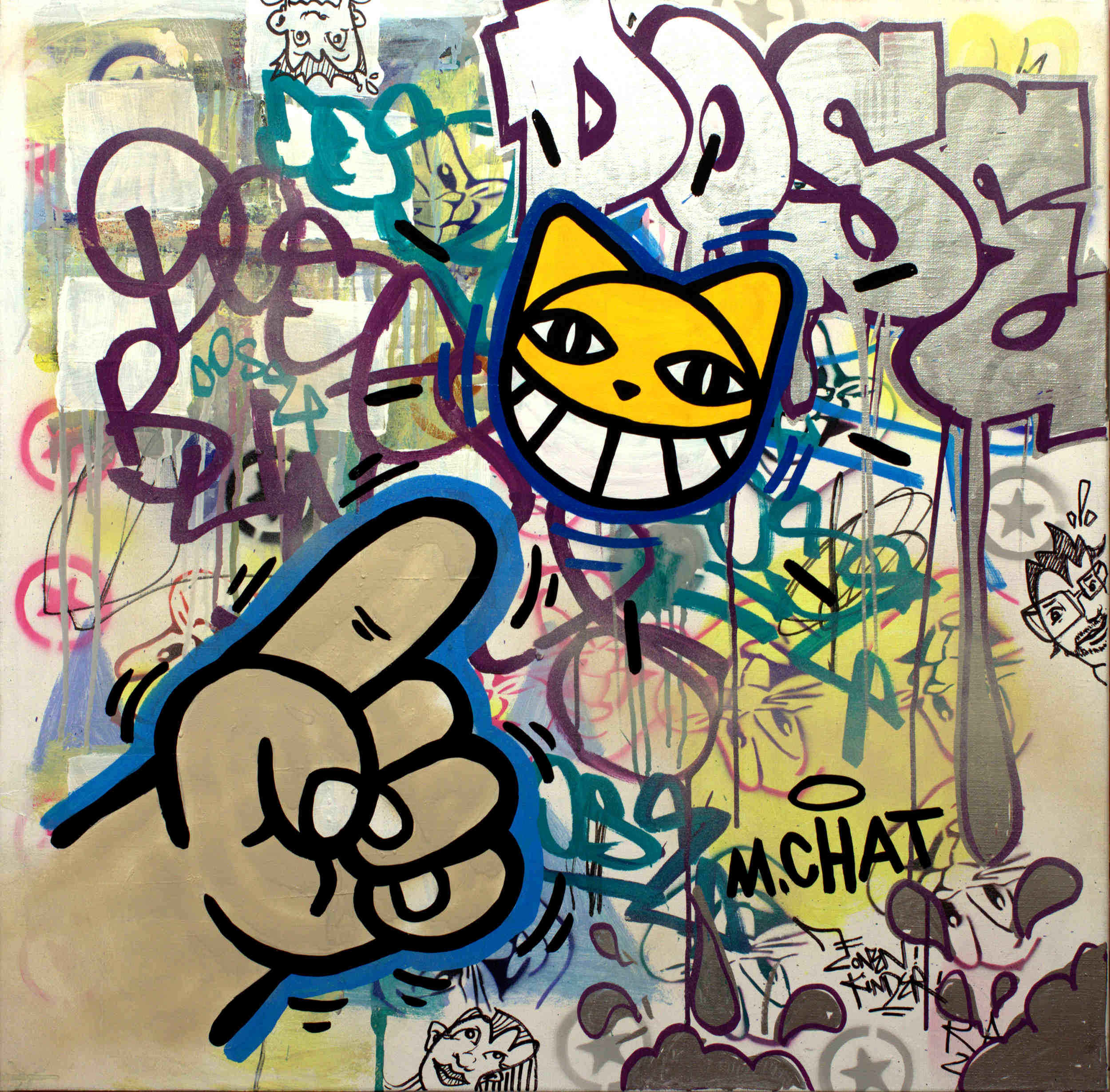 M. Chat, courtesy galerie Berthéas-Les Tournesols