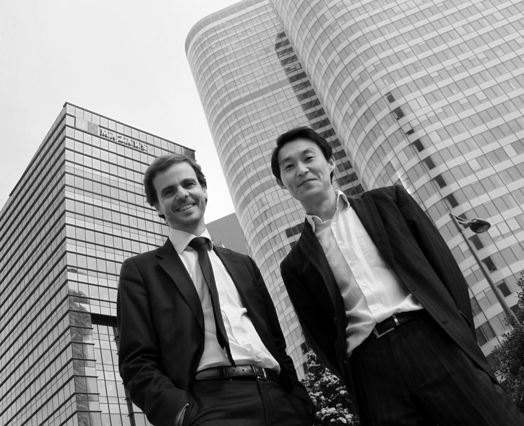 Cyril Schlesser et Matthieu Dubuc, courtesy Art O'Clock