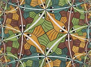 Maurits Cornelis Escher | Détail, Limite circulaire |