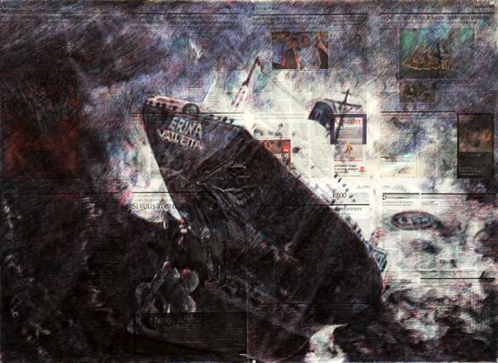 Paul Pouvreau courtesy galerie Les Filles du calvaire