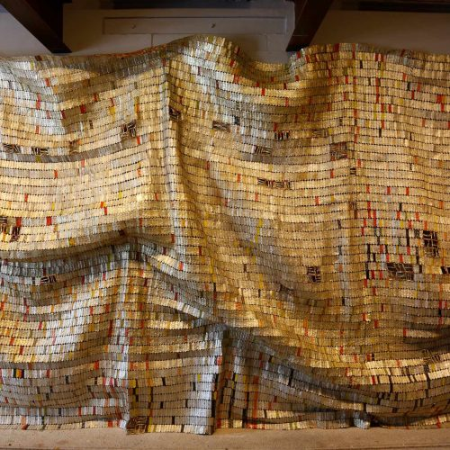 El Anatsui, photo Eric Sanders