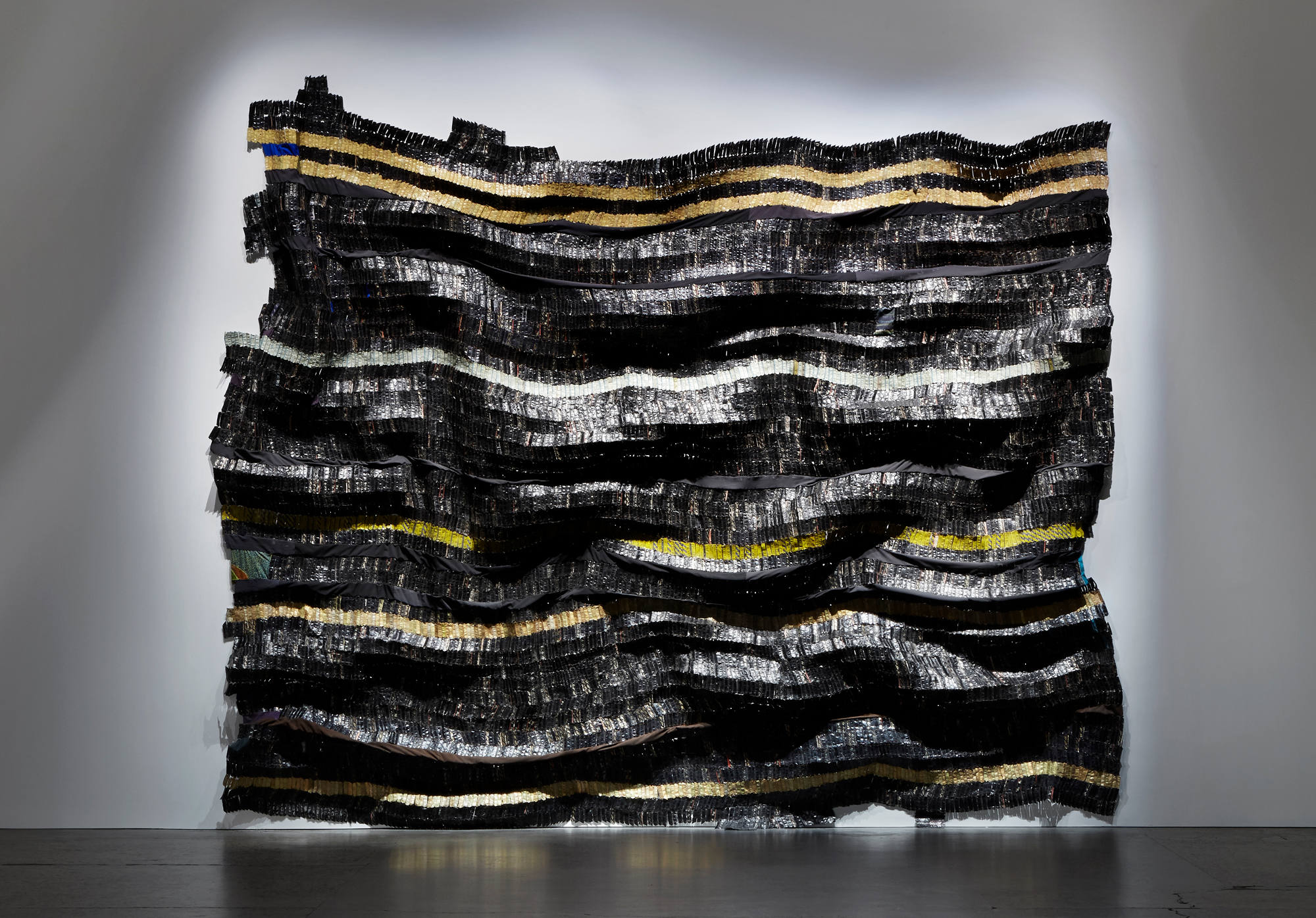 El Anatsui, photo Carriageworks courtesy Jack Shainman Gallery