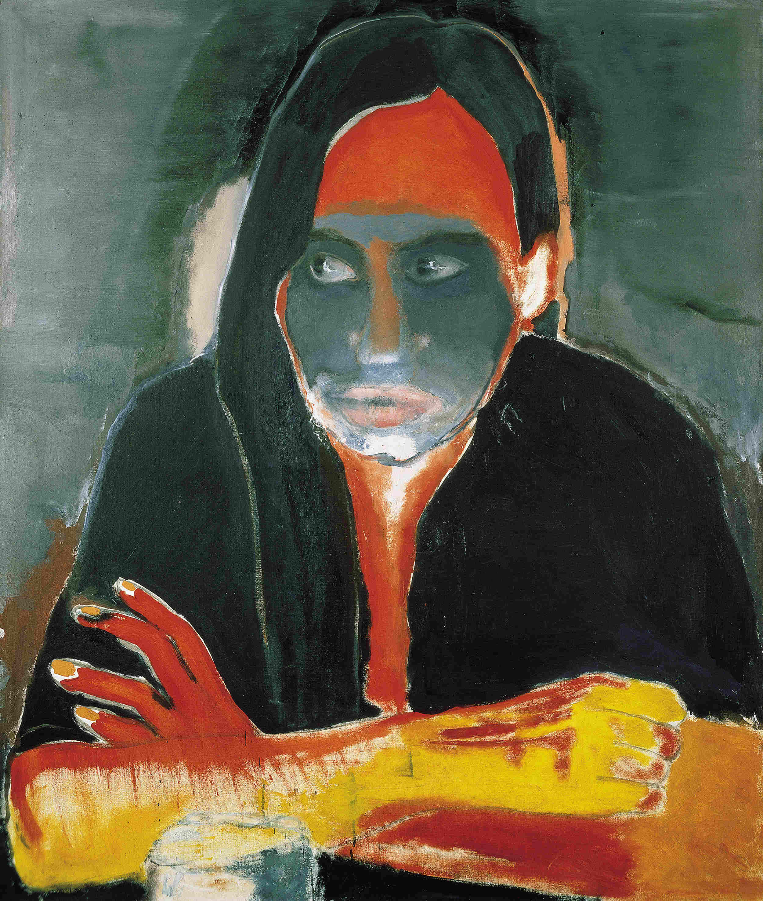 Marlene Dumas, photo Peter Cox, ProLitteris