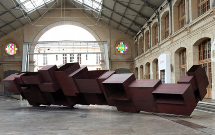 Antony Gormley, photo Marc Domage courtesy Galleria Continua