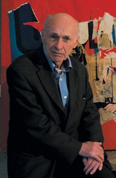 Jacques Villeglé, photo Lionel Hannoun