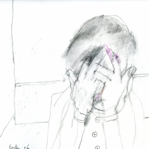 Jean Rustin, courtesy galerie Béatrice Soulié