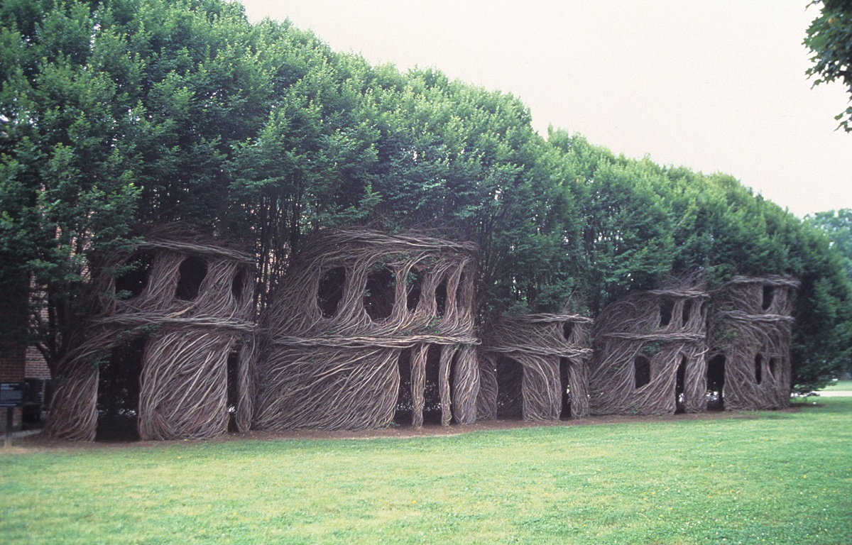 Patrick Dougherty, photo Dole Dean
