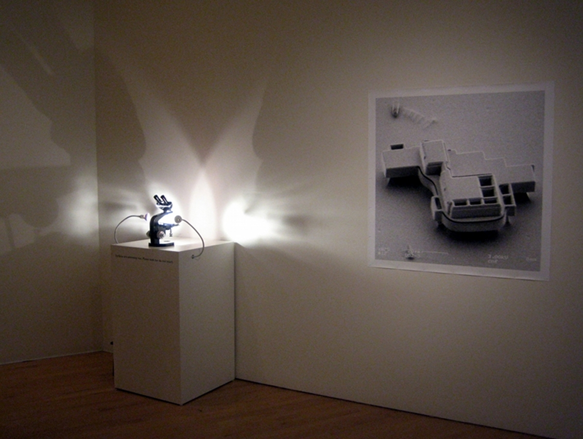 Ken Goldberg et Karl Böhringer, courtesy Catharine Clark Gallery