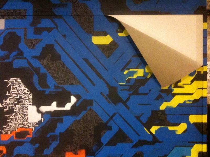 Détail de l'installation présentée@à la Yia Art Fair (Bastille)