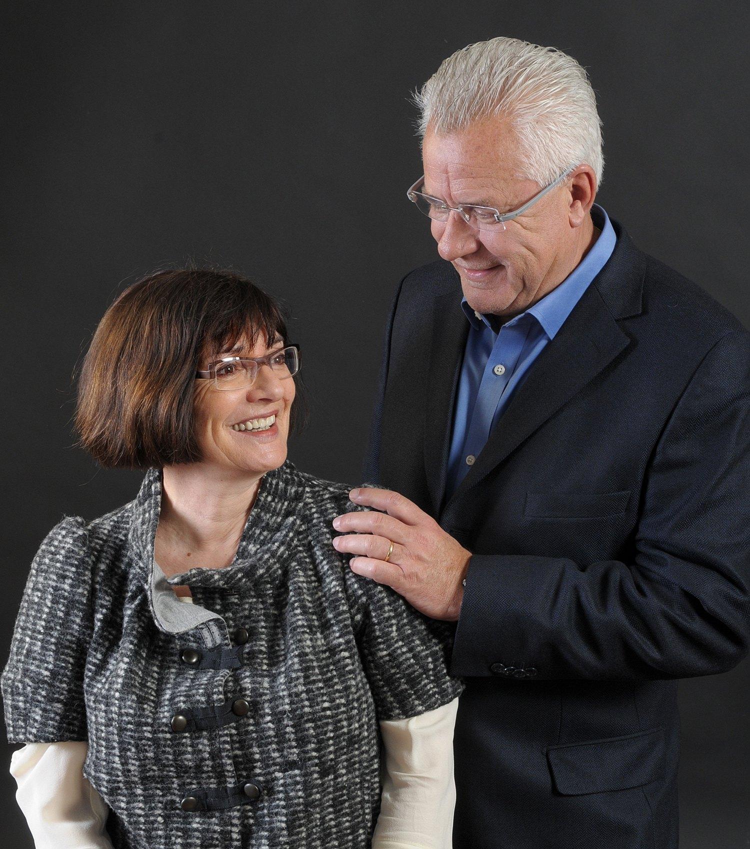 Evelyne et Jacques Deret