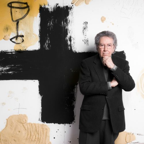 Antoni Tàpies, photo Fabrice Gibert courtesy galerie Lelong