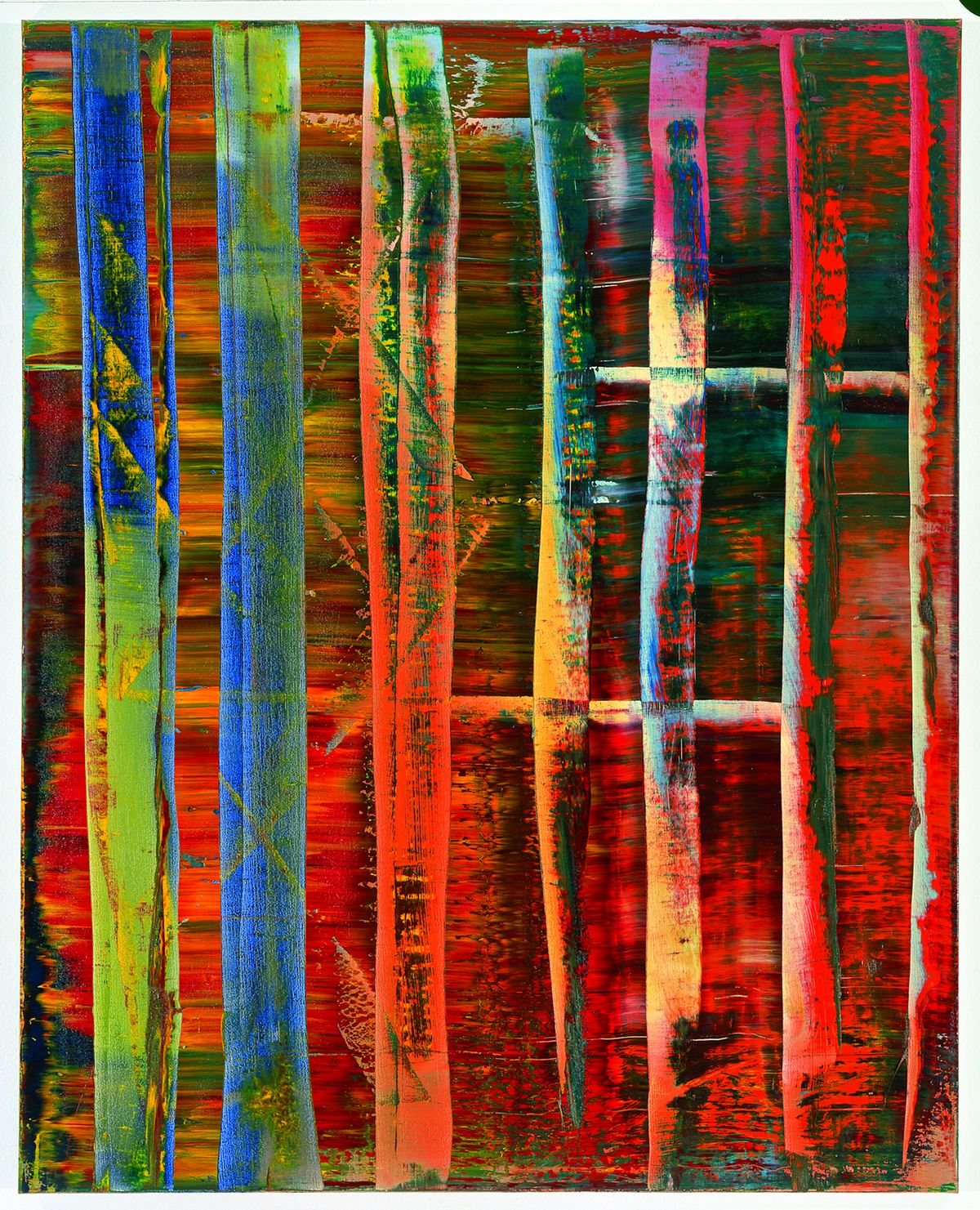 Gerhard Richter, photo musée Frieder Burda, Baden-Baden