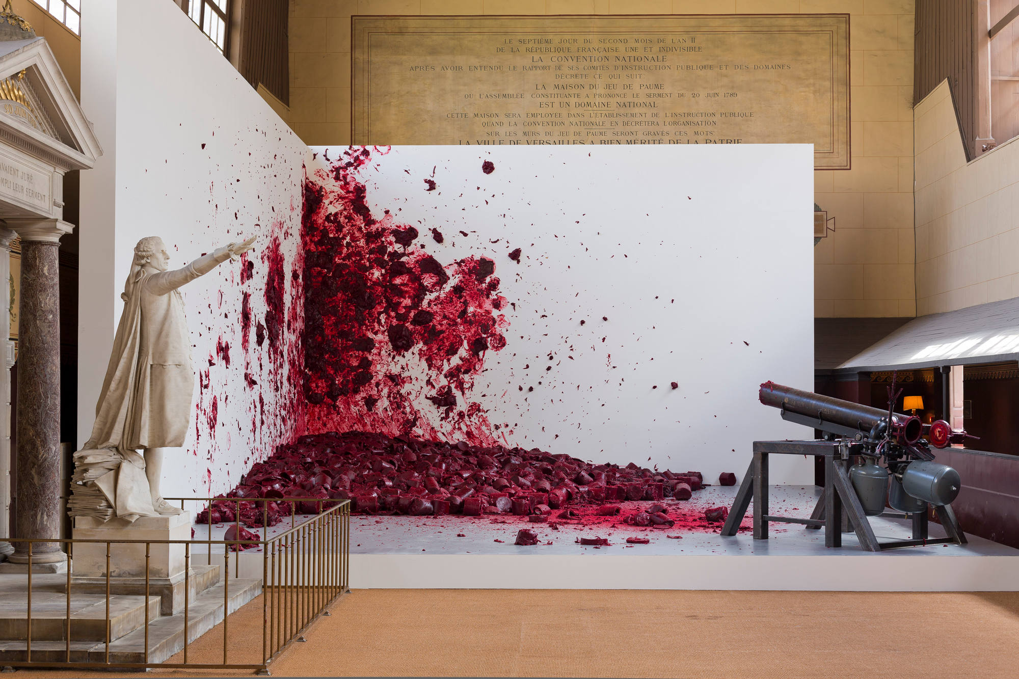 Anish Kapoor, photo Tadzio