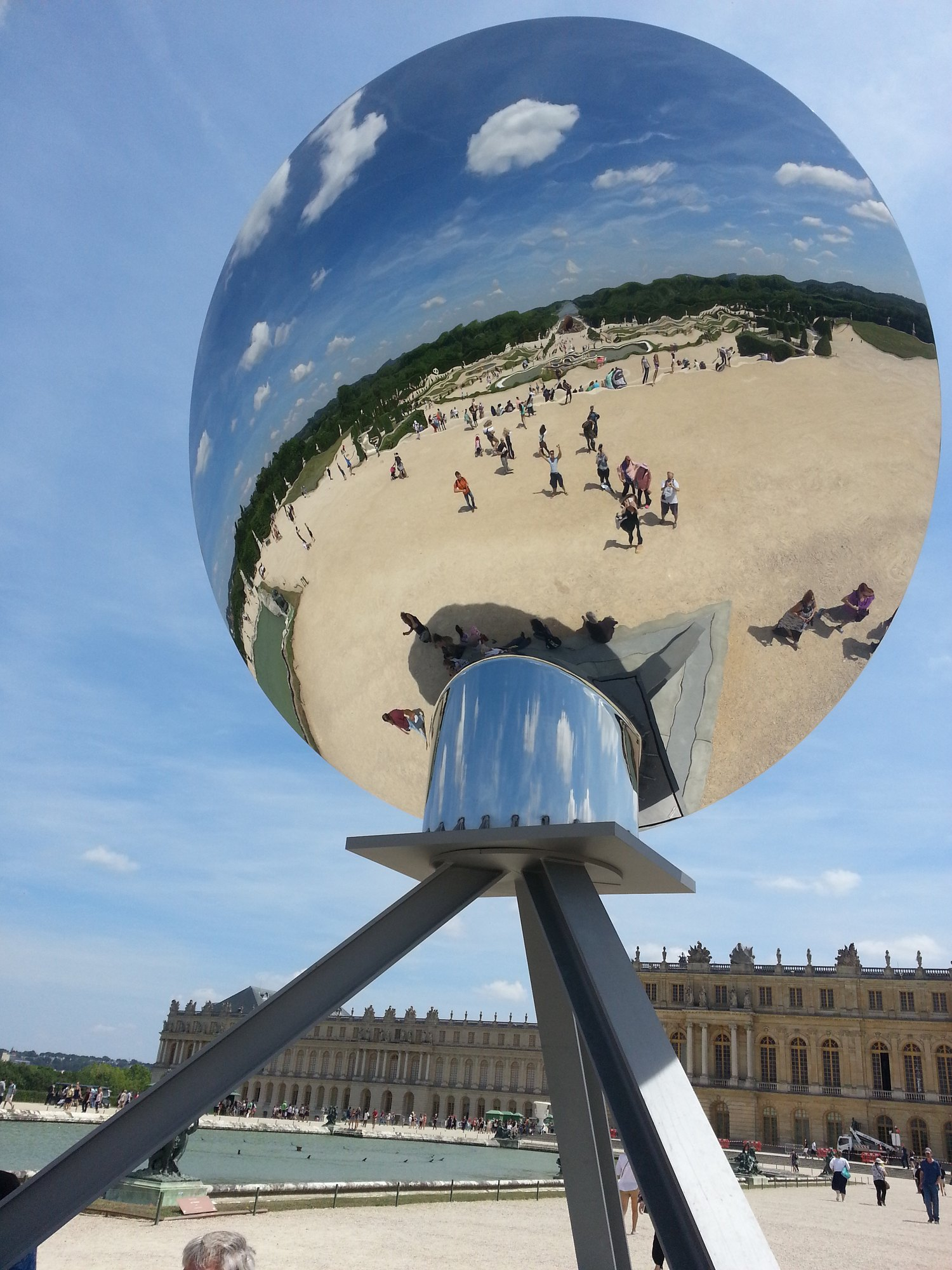 Anish Kapoor, photo Olivier Devillers