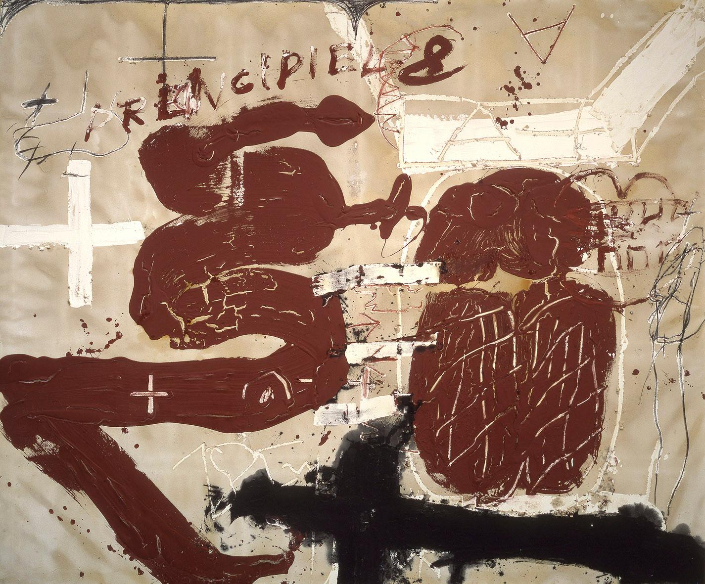 Antoni Tàpies courtesy galerie Lelong