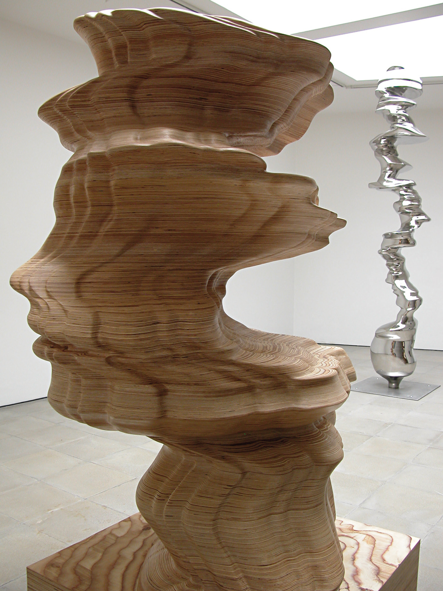 Tony Cragg, Photo : Niels Schabrod