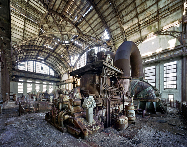 Generator room, Port Richmond Power Station, Philadelphia
